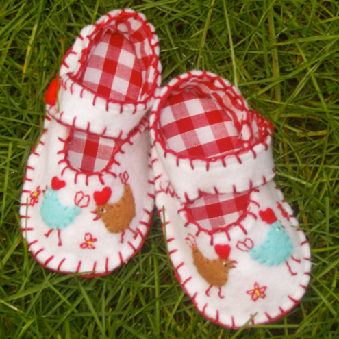 Baby Hen shoes