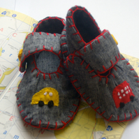 Baby Boys Transport Shoes
