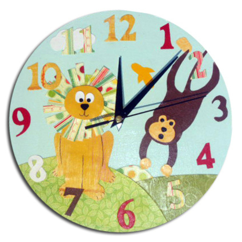 Jungle Animal Clock