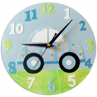 Car Childrens Clock
