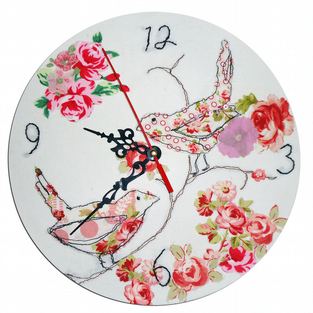 Two Birds Clock