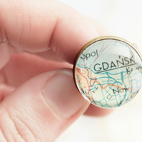 Map Ring Personalized Jewellery Vintage World Map Ring