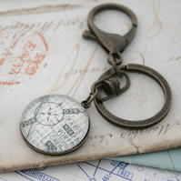 Air Force Keyring Flight Chart Keychain