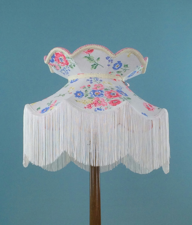 Vintage Victorian Handmade Lampshade