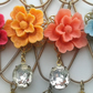 Pretty Vintage Blossom Necklace