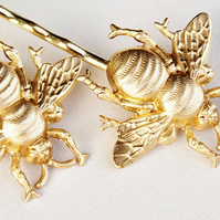 Honey Bee Bobby Pins