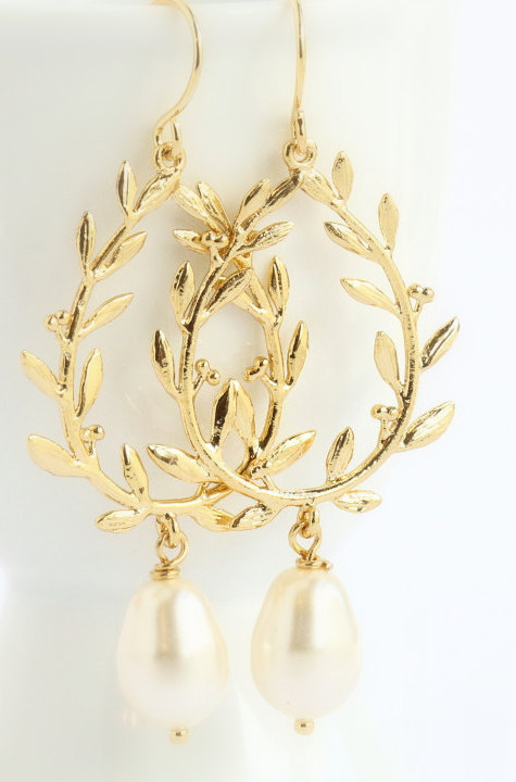 Laurel Wreath Earrings