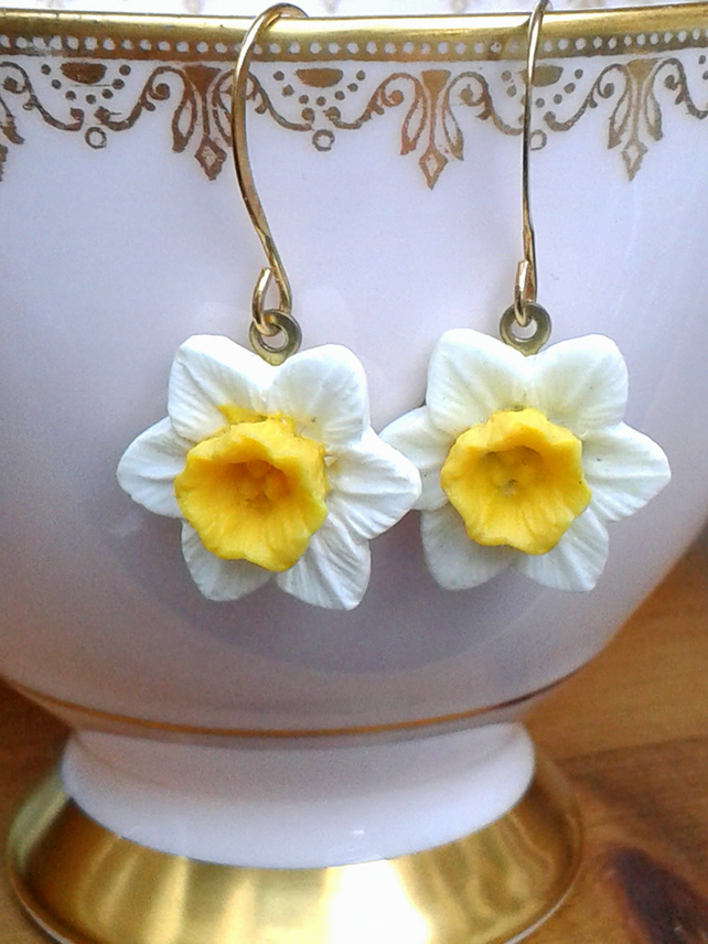 Spring Daffodils Earrings