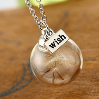 Glass Orb Necklace