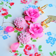Rambling Rose Earrings............