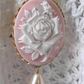 English Rose....Long Necklace