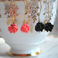 Sweet Petite Rose Earrings
