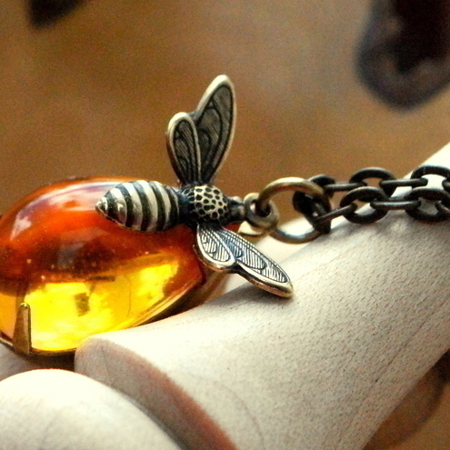 Honey Bee Necklace.......