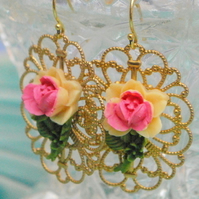 Lace Filigree Earrings.....