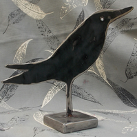 'Boydy 4' crow, table top sculpture