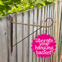 Hanging Fence Bracket for baskets