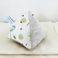 Countryside Linen Pin Cushion