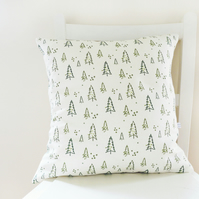 Nordic Trees Linen Cushion