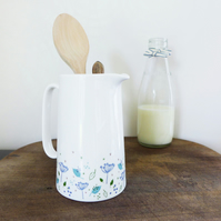 Blue Parsley Custard Jug