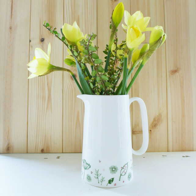 Countryside Custard Jug