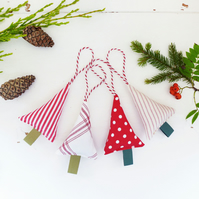 CHRISTMAS TREE DECORATIONS - set of four