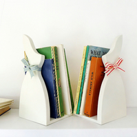 Pair of Bunny Bookends