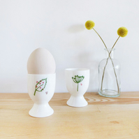 Pair of Countryside Egg Cups