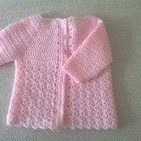 Sweet Coat in Crochet REDUCED WAS 7.50