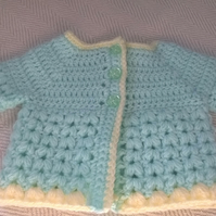 Babies Puff Stitch Cardigan