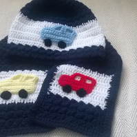 Childs Hat and Scarf Set