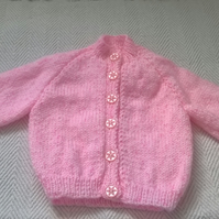 Lovely Hand Knitted Baby Cardigan