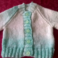 Baby Girls Hand Knitted Cardigan