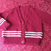 Little Girls knitted cardigan
