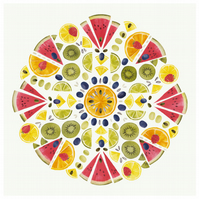 Fruit Mandala