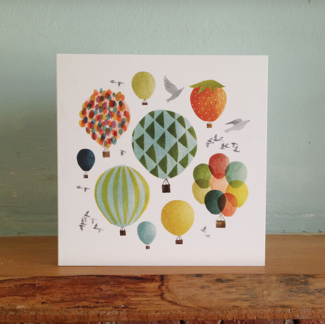 Birds and Balloons Card Pack