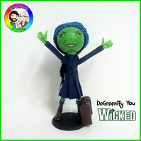 Degreenify You - Wicked the Musical FaBi DaBi Peg Doll