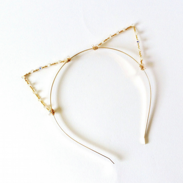 How To Make Wire Cat Ear Headband