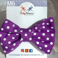 Beautiful Mediumfabric hair bow clip (M6)