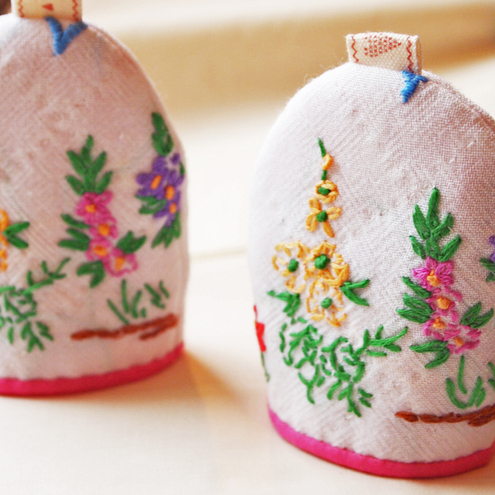 Upcycled Egg Cosy's x 2