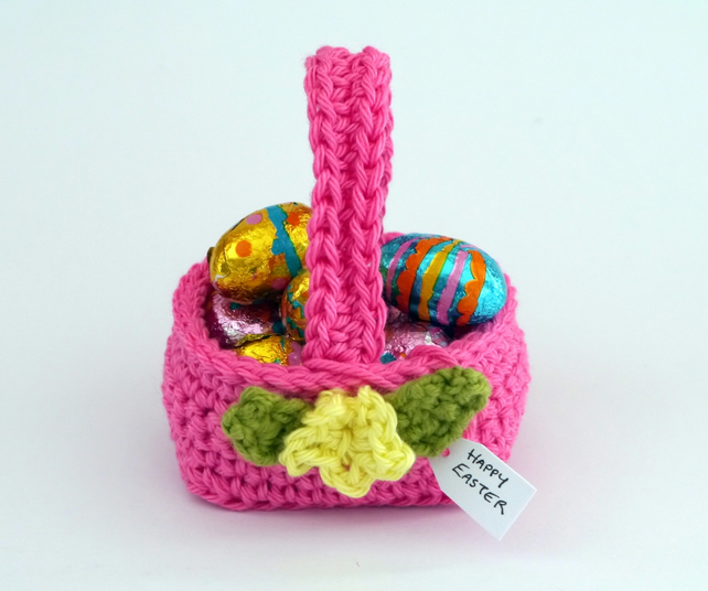Easter Basket Pink