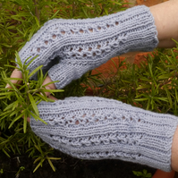 Fingerless Gloves Hand Knitted