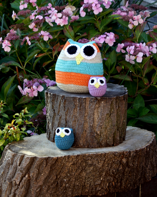 Owl Family Crochet