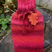 Red Hot Water Bottle Cosy