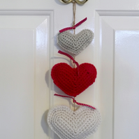Heart Garland Door Hanger