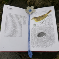 Bookmark Crochet Flower