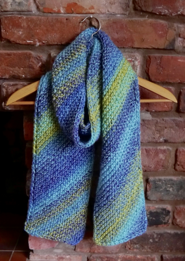 Knitted Scarf Pattern - PDF