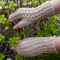 Fingerless Gloves, Winter Fingerless Mittens