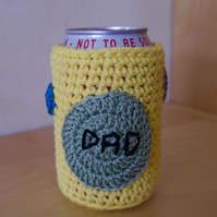 Father's Day Beer Cosy