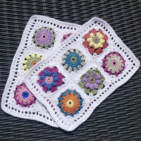 Crochet Place Mats Set of Two