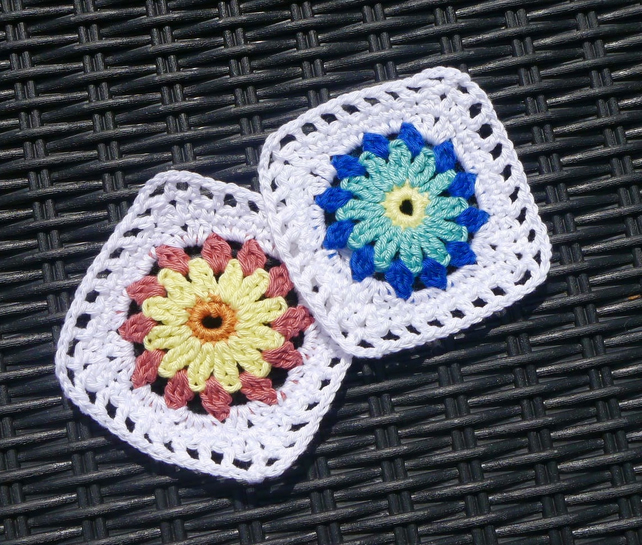Crochet Coasters Set of Two